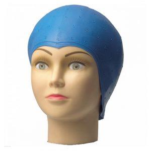 Cuffia per meches gomma blu