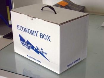 Mantelle box 500pz