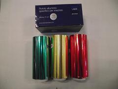 Stagnola cm12 colorata