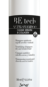 BE HAIR > BE Tech shampoo capelli secchi e trattati 300ml